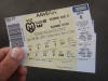 Tickets voetbal