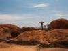 Sebastiaan op de stenen