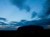 Uluru bij sunset