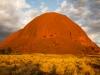 Uluru van de zijkant