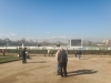 Paardenrace in Santiago
