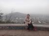 Santa Lucia hill in Santiago