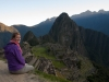Mariska bij Machu Picchu