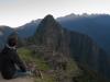 Sebastiaan bij Machu Picchu