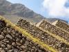 Terrassen Machu Picchu