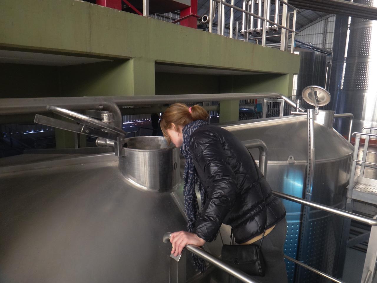 Mariska op inspectie
