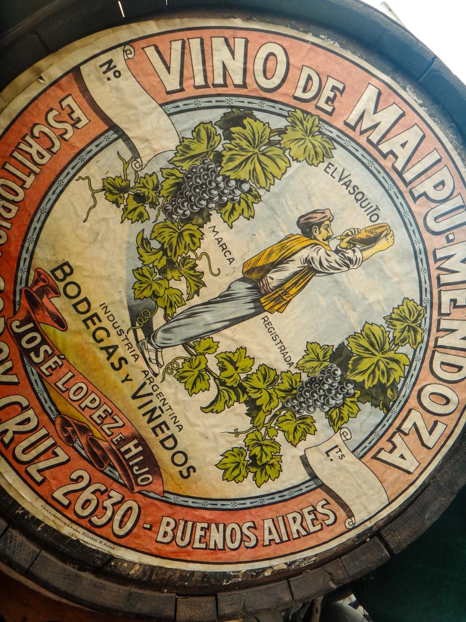 Vino de Maipu Mendoza