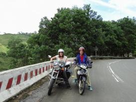 2 dagen motor rijden door Vietnam