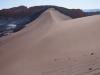 Uitgestrekte zandvlaktes in Valley of the Moon