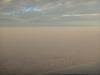 Aankomst in Lima, Peru vanuit het vliegtuig
