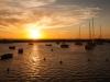 Sunset in de haven