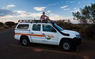 Camper relocation in Australie
